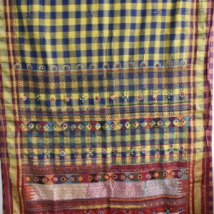 Patted Anchu Cotton Saree (#14)