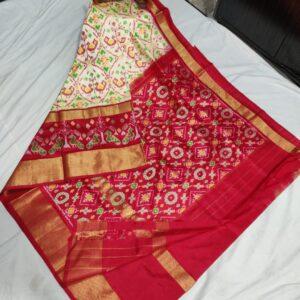 Ikkat Silk Saree (13)
