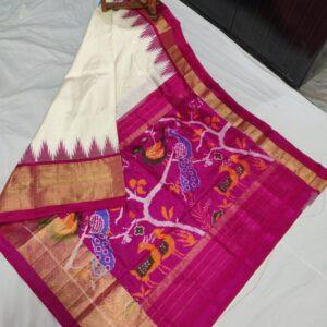 Ikkat Silk Saree (11)