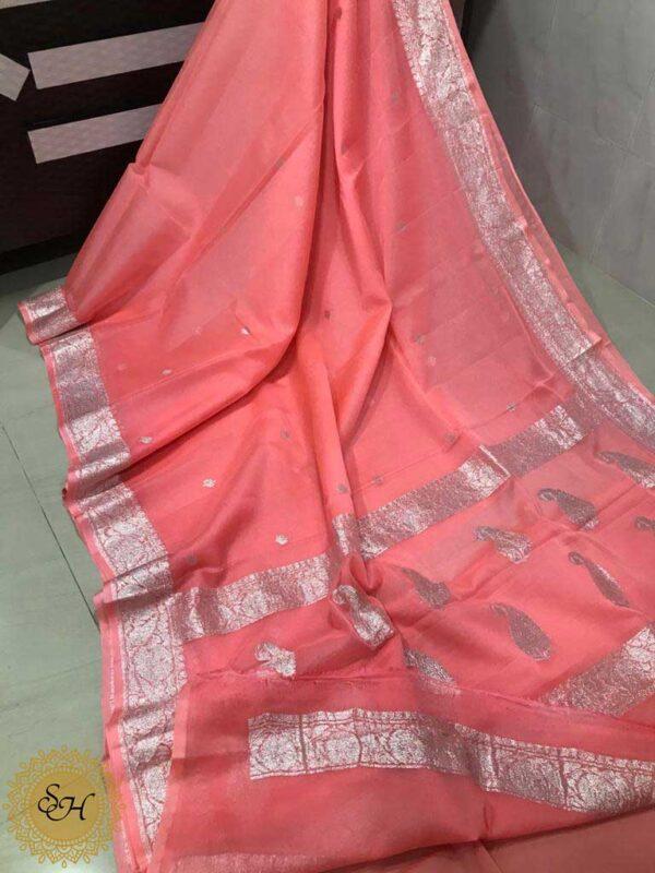 Banaras Khaddi Georgette Sarees