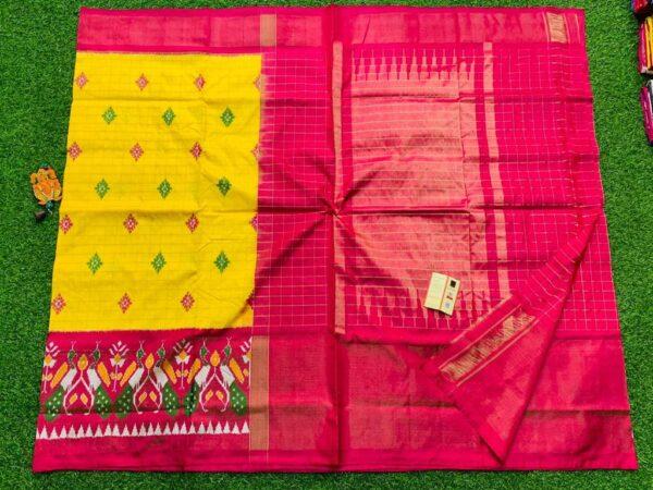 Ikkat Pattu Exclusive Designer Sarees