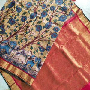 Pure Kanjivaram Silk Sarees #1