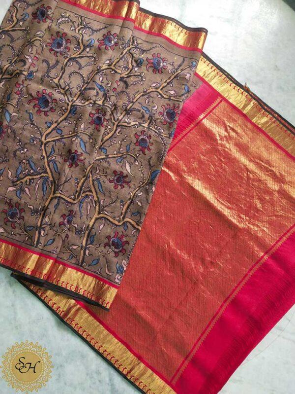 Pure kanjivaram Silk Sarees