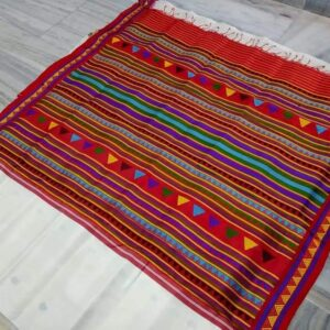 Odisha Handloom Double Ikkat Kotpad Dongria Silk Saree