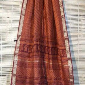 Pure Maheshwari Handloom Saree #10