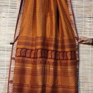 Pure Maheshwari Handloom Saree #11