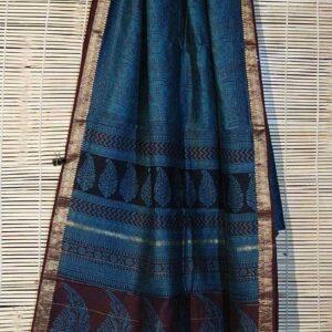 Pure Maheshwari Handloom Saree #12