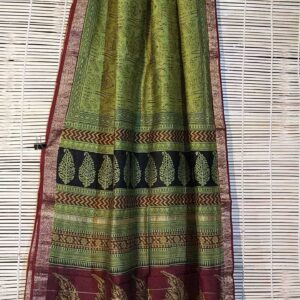 Pure Maheshwari Handloom Saree #15