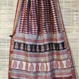Pure Maheshwari Handloom Saree #16