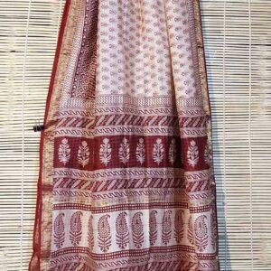 Pure Maheshwari Handloom Saree #18
