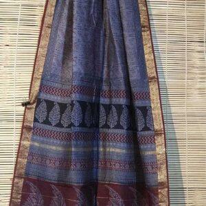 Pure Maheshwari Handloom Saree #22