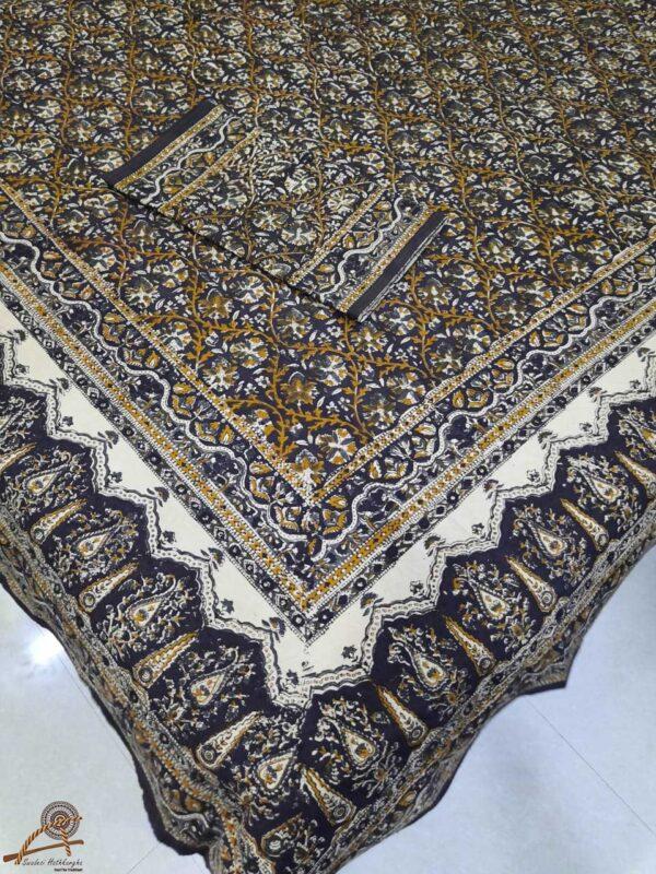 Kalamkari print Double bedsheet