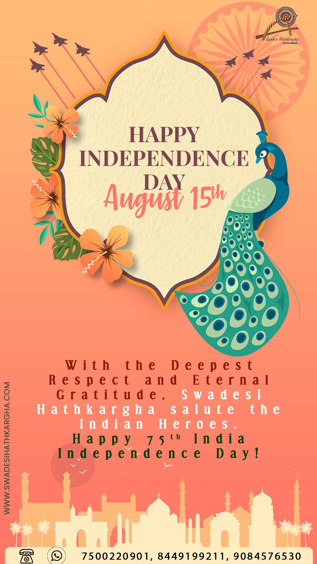 Read more about the article HAPPY 75TH INDEPENDENCE DAY